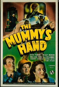 MUMMY'S HAND 1sheet