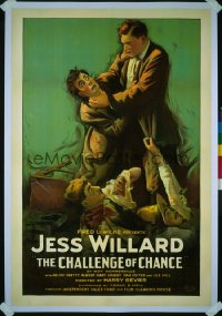 354 CHALLENGE OF CHANCE 1sheet 1919
