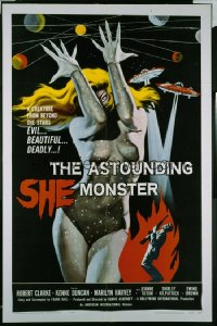 ASTOUNDING SHE MONSTER 1sheet