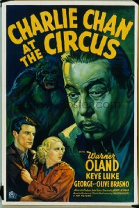 CHARLIE CHAN AT THE CIRCUS 1sheet
