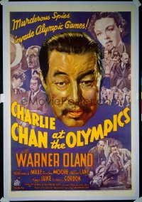 CHARLIE CHAN AT THE OLYMPICS 1sheet