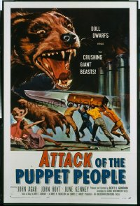 ATTACK OF THE PUPPET PEOPLE 1sheet