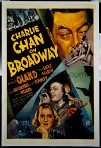 CHARLIE CHAN ON BROADWAY 1sheet
