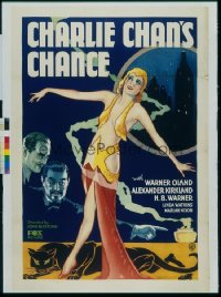 CHARLIE CHAN'S CHANCE 1sheet
