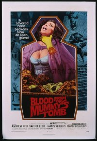 BLOOD FROM THE MUMMY'S TOMB 1sheet