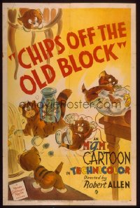 CHIPS OFF THE OLD BLOCK 1sheet