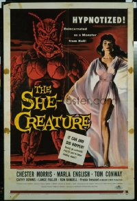 SHE-CREATURE 1sheet