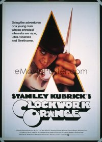 CLOCKWORK ORANGE ('72) 1sheet