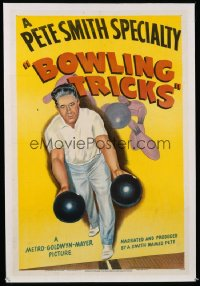109 BOWLING TRICKS 1sheet 1947