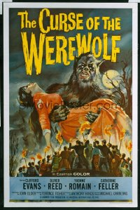 CURSE OF THE WEREWOLF 1sheet