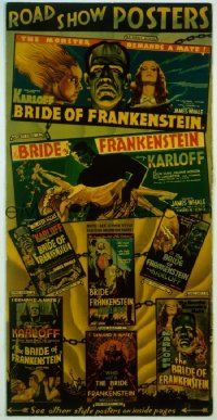 BRIDE OF FRANKENSTEIN pressbook