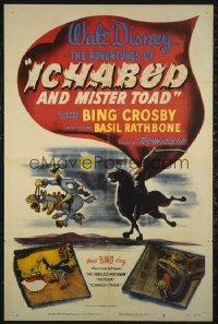 ADVENTURES OF ICHABOD & MISTER TOAD 1sheet