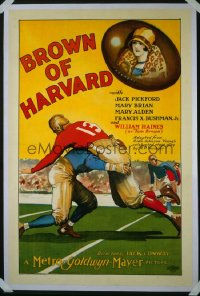 175 BROWN OF HARVARD 1sheet 1926