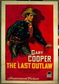 LAST OUTLAW ('27) 1sheet