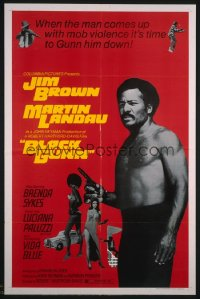 362 BLACK GUNN 1sheet 1972