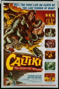 CALTIKI THE IMMORTAL MONSTER 1sheet
