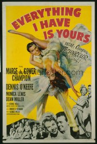 EVERYTHING I HAVE IS YOURS 1sheet