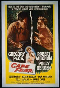 CAPE FEAR ('62) 1sheet