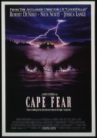 CAPE FEAR ('91) 1sheet