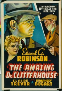 AMAZING DR. CLITTERHOUSE other company 1sheet