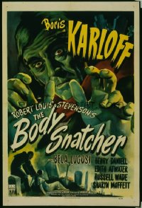BODY SNATCHER ('45) 1sheet