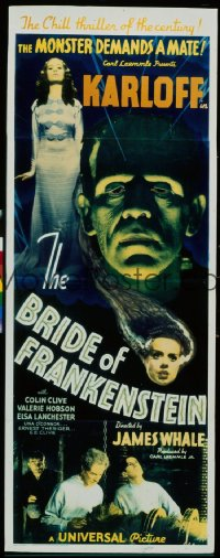 BRIDE OF FRANKENSTEIN insert
