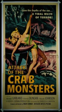 ATTACK OF THE CRAB MONSTERS 3sh