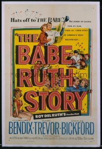 054 BABE RUTH STORY 1sheet 1948