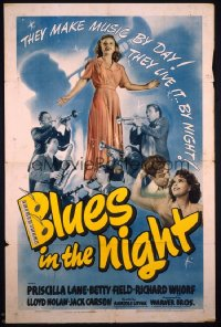 BLUES IN THE NIGHT 1sheet