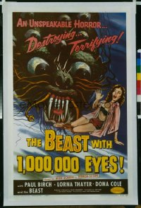 BEAST WITH 1,000,000 EYES 1sheet