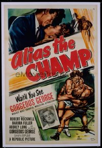 340 ALIAS THE CHAMP 1sheet 1949