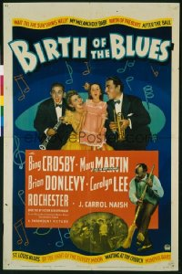 BIRTH OF THE BLUES 1sheet