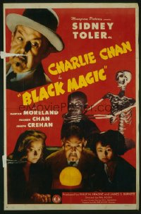 CHARLIE CHAN IN BLACK MAGIC 1sheet