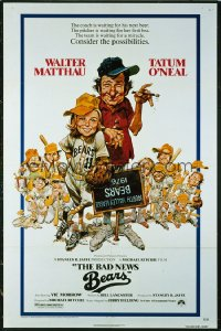 073 BAD NEWS BEARS 1sheet 1976