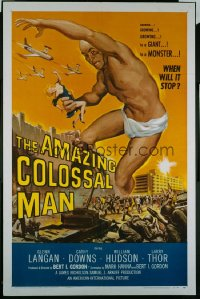 AMAZING COLOSSAL MAN 1sheet