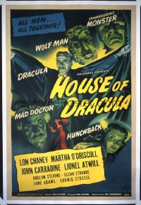 HOUSE OF DRACULA 1sheet