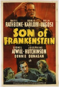 SON OF FRANKENSTEIN 1sheet