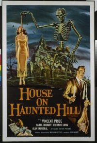 HOUSE ON HAUNTED HILL ('59) 1sheet