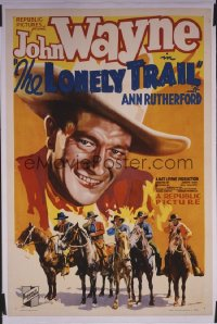 LONELY TRAIL 1sheet
