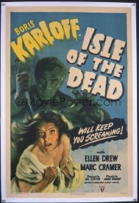 ISLE OF THE DEAD 1sheet