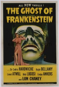 GHOST OF FRANKENSTEIN 1sheet