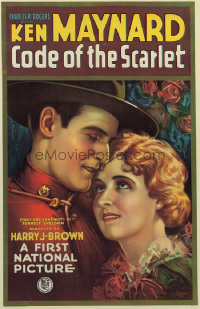 005 CODE OF THE SCARLET linen 1sheet