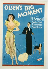 015 OLSEN'S BIG MOMENT linen 1sheet