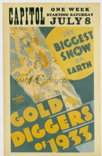 353 GOLD DIGGERS OF 1933 paperbacked WC