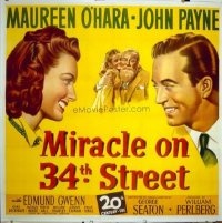 033 MIRACLE ON 34TH STREET ('47) linen 6sh