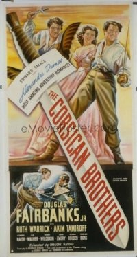 417 CORSICAN BROTHERS ('41) linen 3sh