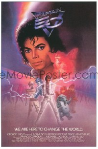 444 CAPTAIN EO special poster