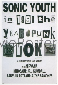 460 1991: THE YEAR PUNK BROKE 1sheet