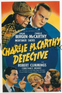 563 CHARLIE MCCARTHY DETECTIVE linen 1sheet
