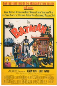 761 BATMAN ('66) UF 40x60